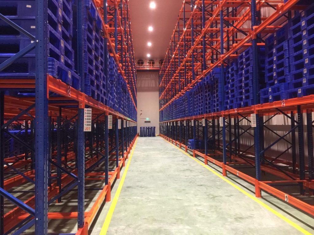 Kho lạnh Hoàng Hà - Công ty cổ phần công nghiệp lạnh Hưng Trí thi công